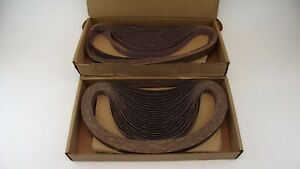 Norton R228 Metalite Abrasive Belts 50 Grit 20905 1 X 42 Tj Box Of 85 Nos