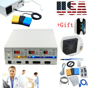 High Frequency Electrosurgical Unit Diathermy Machine Cautery Machine free Gift