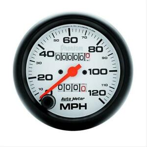Autometer Phantom Series Speedometer 0 120 Mph 3 3 8 Dia Mechanical 5892