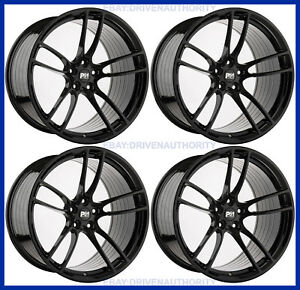 19 X 11 P51 Flow Forged Square Set Wheels Rims 2015 Ford Mustang Track Light