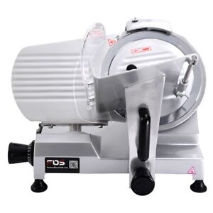 10 Electric Blade Commercial Meat Slicer Deli Meat Cheese Food Slicer Cutter