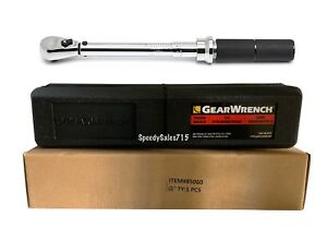 Gearwrench 85060 1 4 Drive Micrometer Torque Wrench 30 200 In lbs