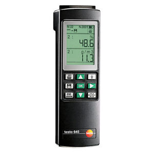 Testo 645 0560 6450 Humidity temperature Measuring Instrument With Battery