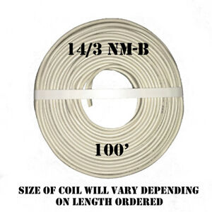 14 3 Nm b X 100 Southwire romex Electrical Cable