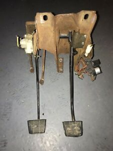 1973 1987 Squarebody Chevy Gmc Hydraulic Hydroboost Brake Clutch Pedal Assembly