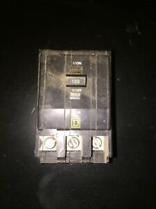 Circuit Breaker Square D Qo 3 Pole 100 Amp Snap On