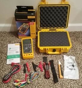 Fluke 789 Multimeter Processmeter Brand New Hard Case magnet All New Access