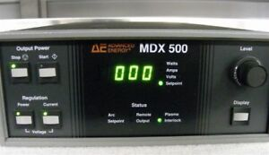 Advanced Energy Mdx500 Dc Sputtering Power Supply 6 Month Warranty