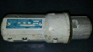 Arktite Apj 6385 Model M 72 Plug 2 Wire 3 Pole Used