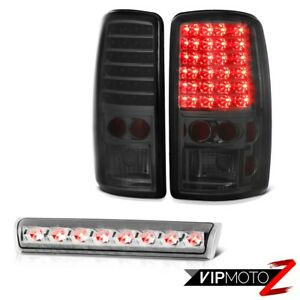 2001 2006 Chevy Tahoe Z71 brightest Led Bulbs Tail Lights High Stop Lamps Euro