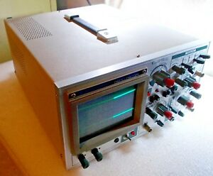 Jdr Instruments Model 3500 Oscilloscope Dual 2 Channel