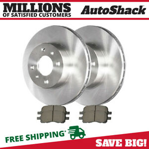 Front Rotors Ceramic Pads For 1998 2000 2001 2002 Chevrolet Prizm Toyota Corolla