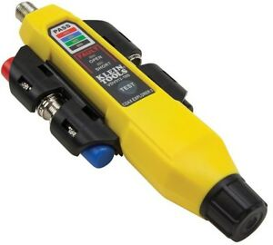 Klein Tools Coax Explorer 2 Remote Kit Electrical Coaxial Cable Tester Battery
