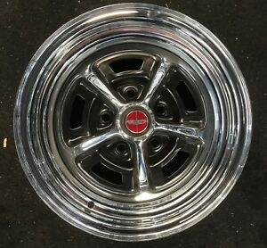 Magnum 500 Mag 500 Chrome Wheels Rims 14x7 Ford Mustang Torino Chrysler Two Only