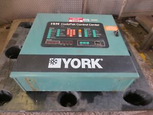 York Chiller 371 01200 002 Isn Codepak Control Center Ytg3h3e2 crf