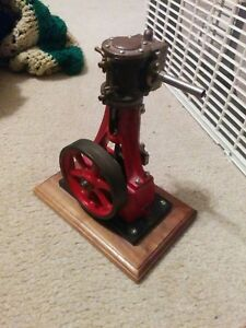 Stuart 7a Live Running Model Steam Engine Works Vintage Power Hit Miss