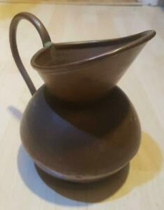 Vintage Antique Copper De Klerk 7 Jug Coffee Pot Pitcher Jug Ewer Flower Pot