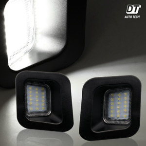 Bright White Led Tag License Plate Light Bulbs Assembly For 2003 2018 Ram 1500