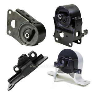 Engine Motor Transmission Mount Set 4pcs For 2003 2007 Nissan Murano 3 5l Fwd