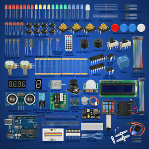 Professional Ultimate Starter Learning Kit For Arduino Uno R3 Servo Processing