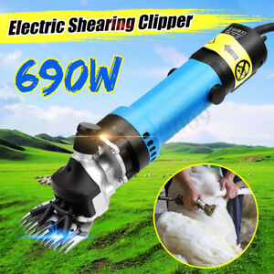 Sheep Shears Goat Clippers Animal Livestock Shave Grooming Farm Supplies 690w