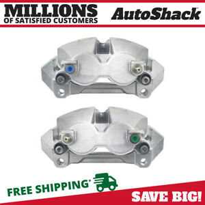 Front Disc Brake Caliper W Bracket Pair 2 For Ford Expedition Lincoln Navigator