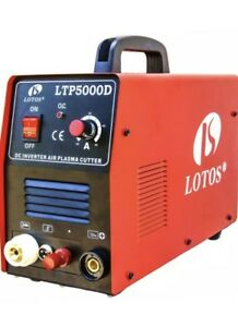 Lotos 50 Amp Non touch Pilot Arc Inverter Plasma Cutter Power Tool Welding j