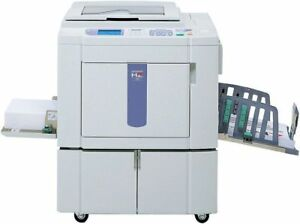 Riso Mz790u Digital duplicator