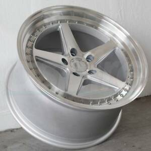 19x9 5 19x11 Silver Wheels Aodhan Ds05 Ds5 5x114 3 22 22 set Of 4