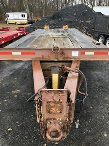 12 Ton Equipment Trailer Heavy Steel W Ramps