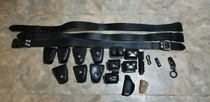 Don Hume Sam Browne Duty Police Belts Cuff Pouch Speedloader And More