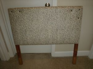 Mid Century Modern Upholstery Pair Of Twin Size Headboards 38 X 37 Excellent