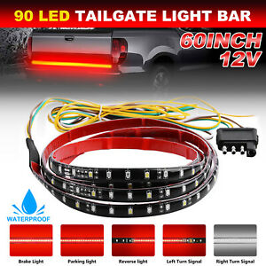 2x8inch Car Spot Beam Slim Led Work Light Bar Single Row Road Lamp For Truck Suv