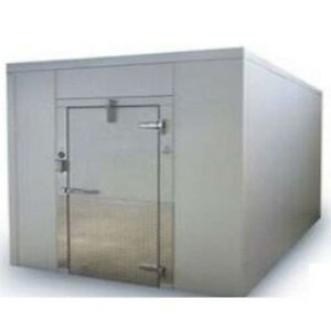 Kysor Used Walk In Stainless Steel Freezer 9x8x8 1 2 With Sub Floor Local Pick