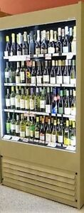 Structual Concepts Open Air Cooler For Liquor Store Or Wine Shop