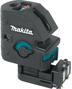 Makita Cross Line Point Laser Self Leveling Combination Vertical Horizontal Tool