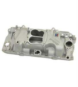 Edelbrock Performer Intake Manold Chevy B396 427 454 Fits Oval Port Heads 2161