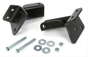 Trans dapt Motor Mounts Rubber Black Chevy Bel Air 210 1955 57 Big sm Block Kit