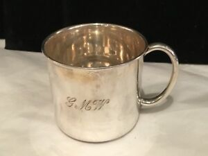 Antique Authentic Signed Reed Barton Sterling Silver Baby Cup Must See No Re