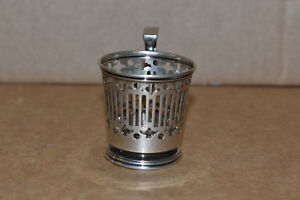 Demitasse Expresso Holder Sterling Silver