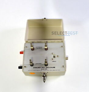 Keithley 6104 Shielded Test Enclosure 2 And 3 terminal Connections