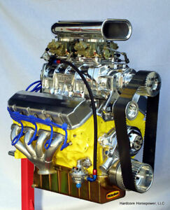 540ci Big Block Chevy Blown Pro Street Engine 1 000hp Built To Order