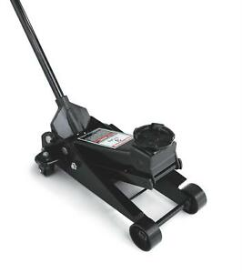 Craftsman Floor Jack 6000 Lbs Capacity 19 25 Maximum Height Steel Black Each