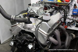 383ci Small Block Chevy Street Engine 545hp Built to order Dyno Tuned