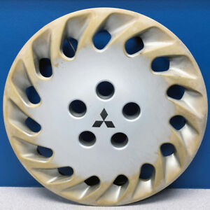 One 1992 1993 Mitsubishi Diamante 57532 15 Hubcap Wheel Cover Mb891734 Used