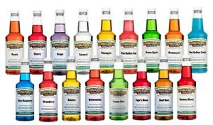 Hawaiian Shaved Ice Premium 17 Flavor Shaved Ice Syrup Assortment Pint Size