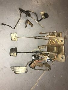 73 87 Chevy Gmc Hydraulic Hydroboost Gas Brake Clutch Pedal Assembly Extras