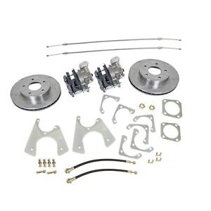 Summit Racing Rear Drum To Disc Brake Conversion Kit Sum Bk1623