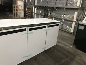 Low Boy Cooler 6ft Table Refrigerator