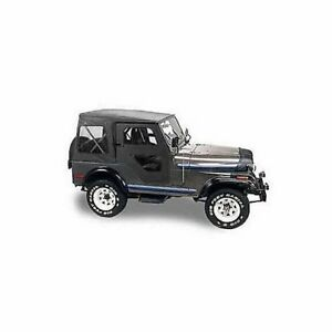 Bestop 51117 01 Soft Top Replace a top Polymer Cloth Black Jeep Cj5 Each